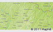 Physical 3D Map of Banonon