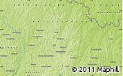 Physical Map of Banonon
