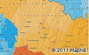 Political Map of Ferkessédougou