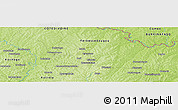 Physical Panoramic Map of Ferkessédougou