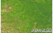 """Satellite Map of the area around 9°36'8""""N,62°49'30""""W"""