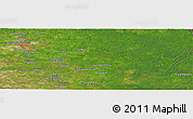 "Satellite Panoramic Map of the area around 9°36'8""N,62°49'30""W"