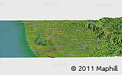 "Satellite Panoramic Map of the area around 9° 36' 8"" N, 76° 34' 29"" E"