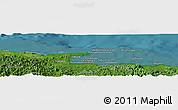 "Satellite Panoramic Map of the area around 9°36'8""N,78°58'29""W"