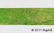 "Satellite Panoramic Map of the area around 9°36'8""N,7°43'29""E"