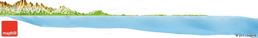 Physical Horizon Map of Changuinola
