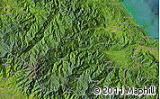 """Satellite Map of the area around 9°36'8""""N,83°13'29""""W"""