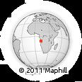 Outline Map of Escola De Pescas E Marítima, rectangular outline