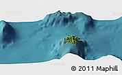 Satellite Panoramic Map of Hakamui