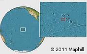 "Satellite Location Map of the area around 9°15'16""S,141°1'30""W"