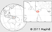 Blank Location Map of Boigu