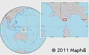 Gray Location Map of Boigu
