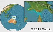Satellite Location Map of Boigu