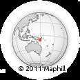 Outline Map of Doramusa, rectangular outline