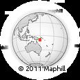 Outline Map of Tainabuna, rectangular outline