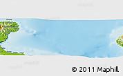 Physical Panoramic Map of Amuioan