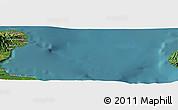 Satellite Panoramic Map of Amuioan