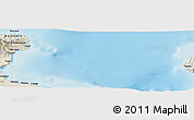 Shaded Relief Panoramic Map of Amuioan
