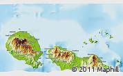 Physical 3D Map of Naieta