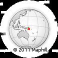 Outline Map of Kulumadau, rectangular outline