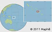 "Savanna Style Location Map of the area around 9°15'16""S,159°52'30""E"