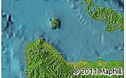 "Satellite Map of the area around 9°15'16""S,159°52'30""E"