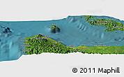 "Satellite Panoramic Map of the area around 9°15'16""S,159°52'30""E"