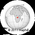 Outline Map of Kitombo-Tombo, rectangular outline