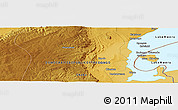 Physical Panoramic Map of Chipulwe