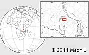Blank Location Map of Mporokoso