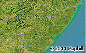Satellite Map of Barra Grande