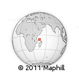 "Outline Map of the Area around 9° 15' 16"" S, 45° 7' 30"" E, rectangular outline"