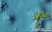 Satellite Map of Hanatetena