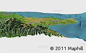 Satellite Panoramic Map of Afamatuna