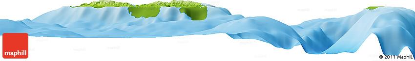 Physical Horizon Map of Mwaniache