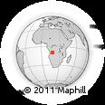 Outline Map of Mazunzo, rectangular outline