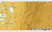 Physical 3D Map of Shanyemba