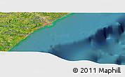 Satellite Panoramic Map of Maceió