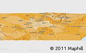 Political Panoramic Map of Arapiraca