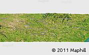 Satellite Panoramic Map of Arapiraca