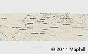 Shaded Relief Panoramic Map of Arapiraca