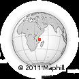 "Outline Map of the Area around 9° 46' 31"" S, 40° 52' 30"" E, rectangular outline"