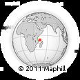 "Outline Map of the Area around 9° 46' 31"" S, 44° 16' 29"" E, rectangular outline"