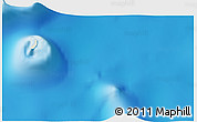 """Shaded Relief 3D Map of the area around 9°46'31""""S,46°49'30""""E"""