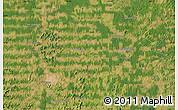 Satellite Map of Ariquemes