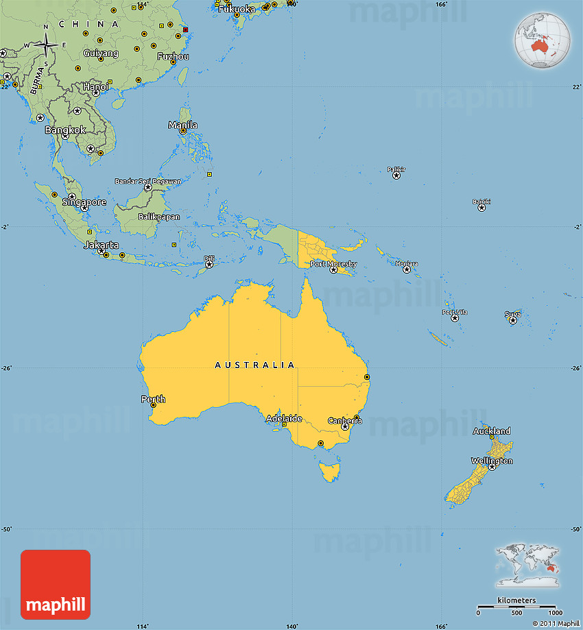 Map Australia And Oceania Culture Pictures to Pin on Pinterest PinsDaddy