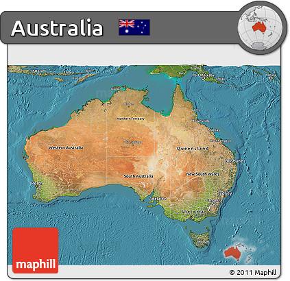Free 3d Map Of Australia.Free Satellite 3d Map Of Australia