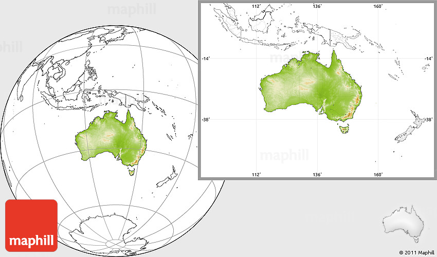Physical location map of australia blank outside westnortheast gumiabroncs Gallery