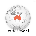 Outline Map of Australia