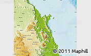 Physical Map of Cairns